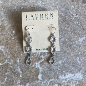Ralph Lauren drop earrings